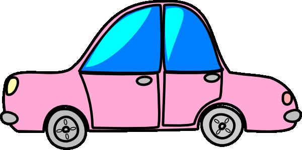 car-pink-transport-cartoon-hi